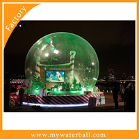 2016 Outdoor New Design, Outdoor Giant Chinese Inflatable Snow Globe Tent