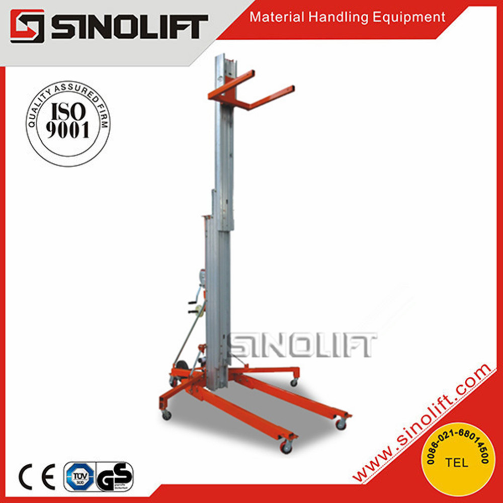 Hot Sale 2015 SINOLIFT LGA Aerial Lifting Equipment Material Lift with CE Certificate