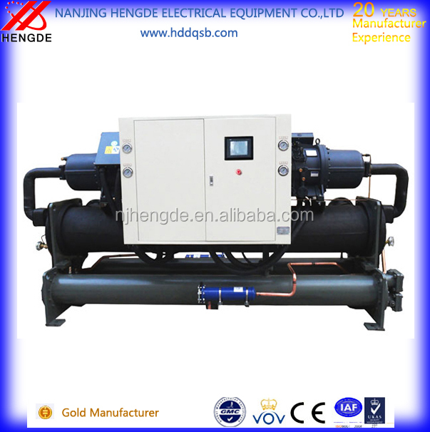 Top quality Water cooled screw type chiller