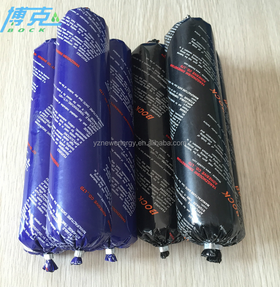 factory price polyurethane sealant 600ml for caulking black color