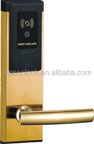 China factory hotel electronic door lockwith access control card
