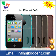 2015 For Apple iPhone 4/4swholesale tough slim armor case smartphone accessories case for iphone 4G