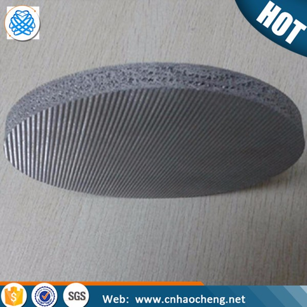 Stainless Steel Filter Wire Mesh Screen / Sintered Filter Mesh Disc