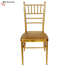 Cheap stacking gold gilt chair for wedding