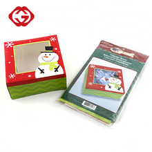 Wholesale cheap decorative paper christmas cupcake boxes