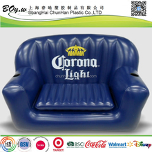 Sedex Factory testing OEM furniture chair air drinking bucket large pvc double inflatable cooler sofa