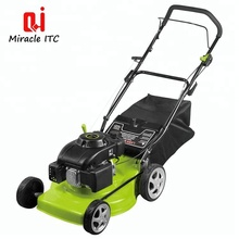 New Style Zero Turn Manual Push Gasoline Lawn Mower With Mini Hay Baler