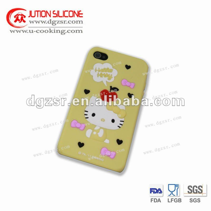 2013 hot selling imprint custom logo silicon cell phone case