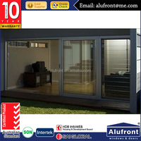Top Grade Aluminium Alloy Sliding Door with High Quality German Hardware