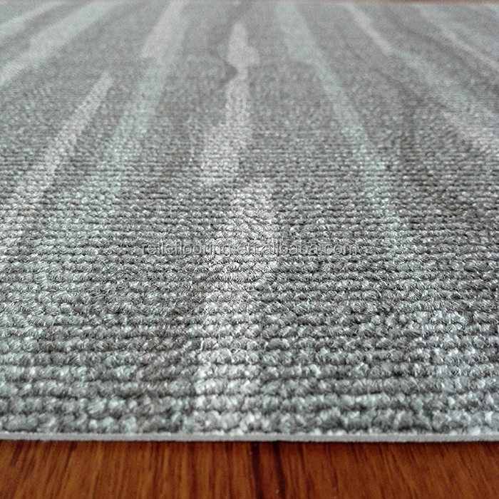 airport PVC carpet tiles reducing the natural resources breaking to maintain the ecological blance