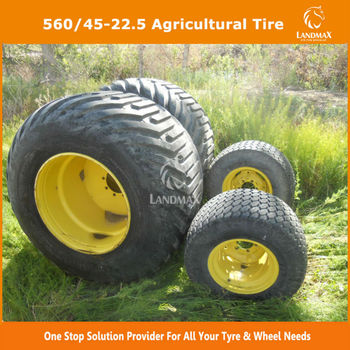 High Flotation Tire Tractor Tire 560/45-22.5 For Sale