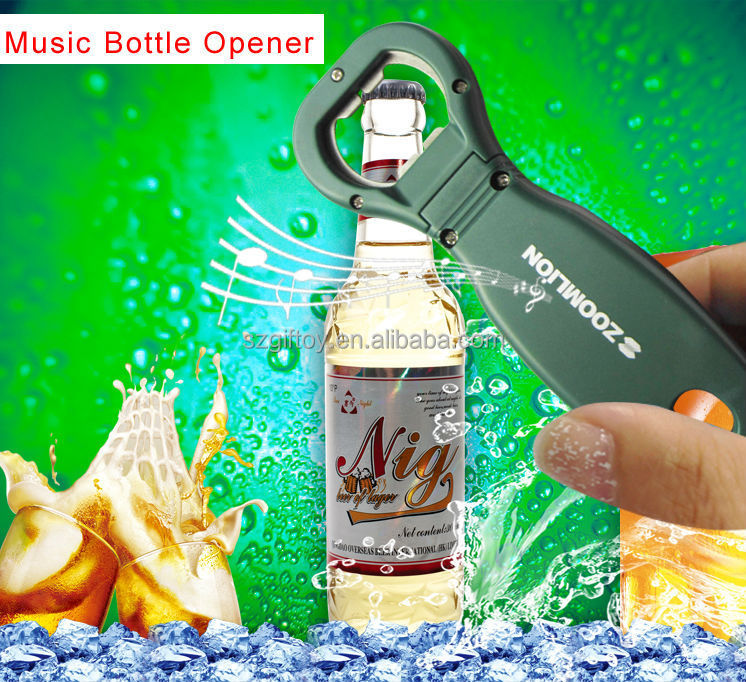 Fashion Design Can and Bottle Opener with Sound Music Recorder