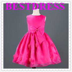 2015 best ruffle spring new korean style brand phelfish girls dresses kids clothes