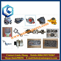 High quality PC200-6 spare parts excavator turbocharger cylinder head gasket kit pump valve swing travel undercarriage parts