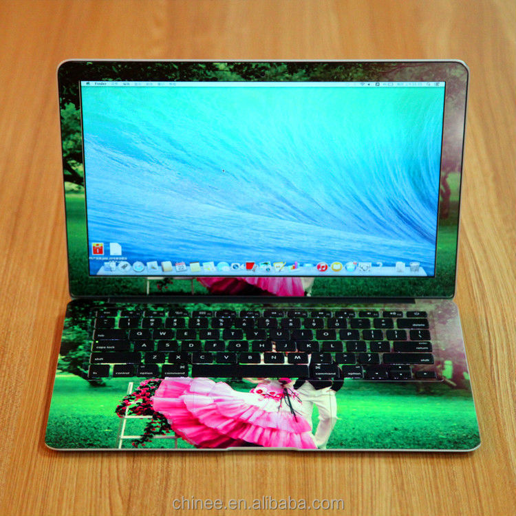 2015 the Best Popular 3D Laptop Decal Sticker with Professional Cutting Software
