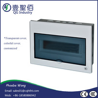 China Fire Rated Din Rail Mounting Distribution Box