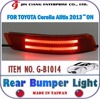BODY KIT Car ACCESSORY For Toyota ALTIS Red Brake REAR BUMPER LIGHT