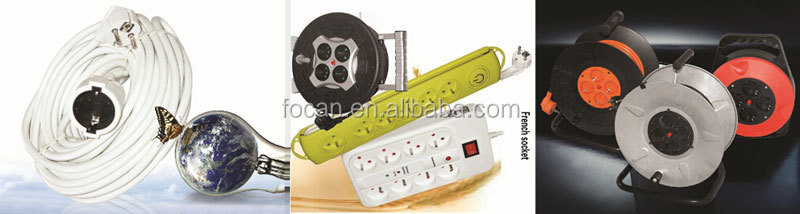 4 way 16A European Schuko Socket Outlet Electric Socket Germany Socket