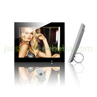 "2015 hot selling 12"" video/mp3/ mp4 playback digital photo frame picture frame"