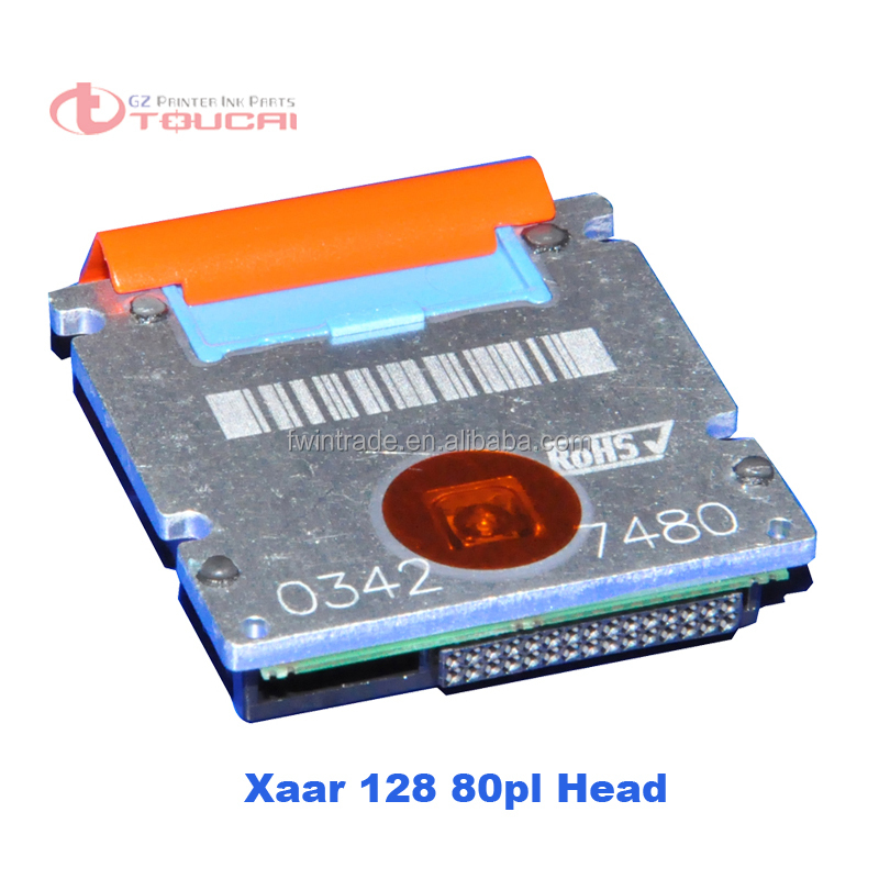 xaar 128 200 dpi printhead in blue color 80pl for large printer