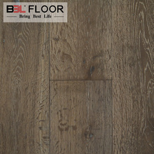 New Arrival Color Engineered Timber Oak Flooring White brushed Parquet Oak Solid Hard Wood Flooring Fumed