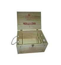 Promotion wooden wine case