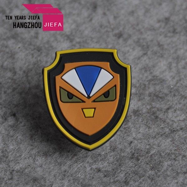hot sale custom woven rubber patch for kids garment