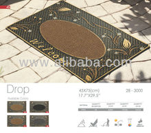 PVC Doormat With Glass Mosaic 45/75cm