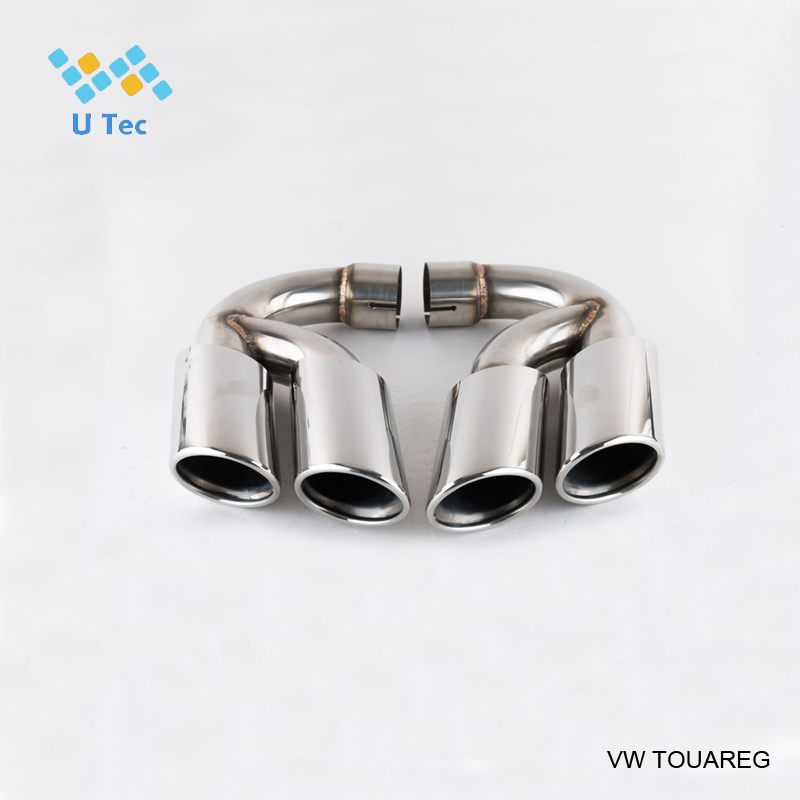 factory outlet stainless steel sus 304 racing <strong>muffler</strong> for touareg exhaust tip