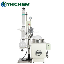 10L pilot rotary vacuum distillation unit with electric heat water bath