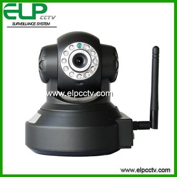 Onvif Low Price robot wifi ip camera for security with alram/ with Microphone/ with TF Card