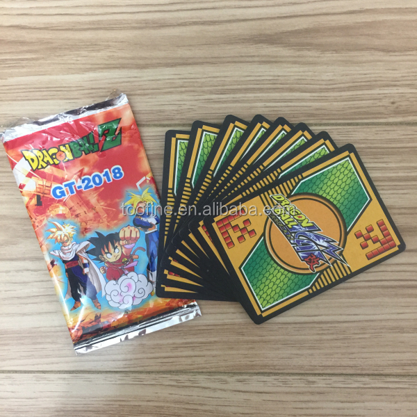Children Best Gift Holo Dragon Ball Cards Game
