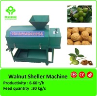 2015 walnut crusher/green walnut sheller/walnut cracker