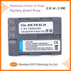 High quality 7.4V 1500mAh Digital Li-ion Battery EN-EL3E for Nikon Coolpix D70 D80 D90 D100 D200 D300 D700