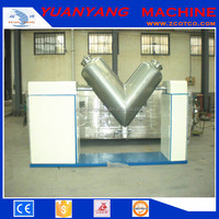 Industrial high efficiency V type chemical powder mixer, chemical mixing machine
