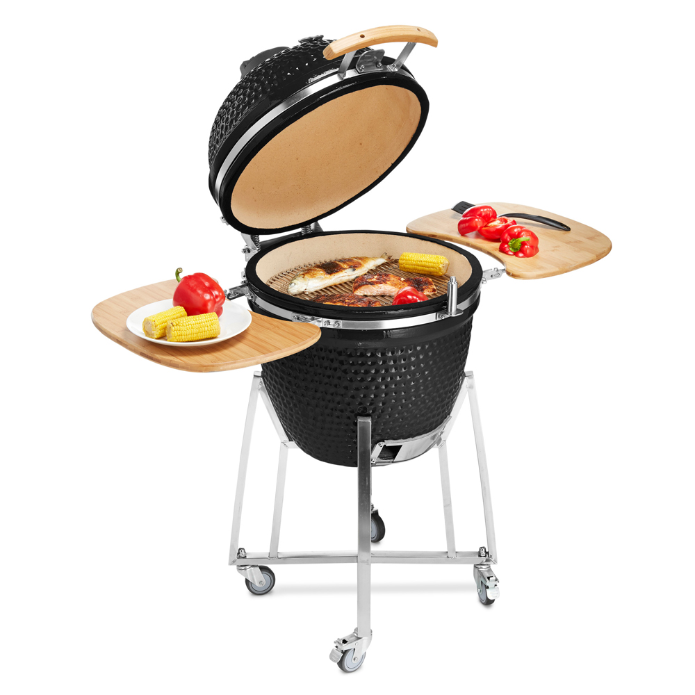 Portable Camping Kitchen Wood Burning Charcoal BBQ Grill