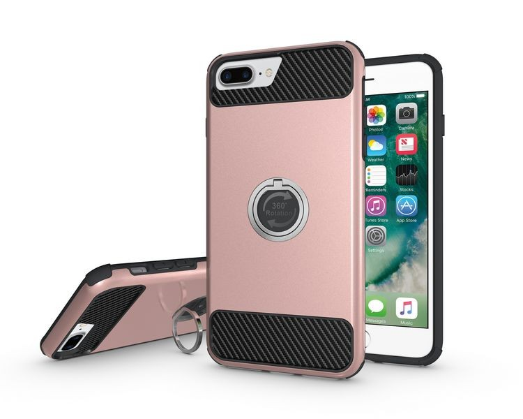 original design ring armor mobile phone housing for iPhone 7 Plus