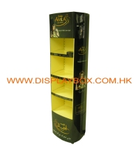 PD125 Metal Shampoo Display