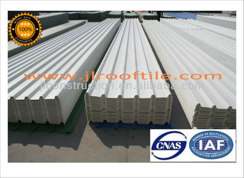 Little Foamed UPVC Roofing Sheet With PMMA Coating 1130