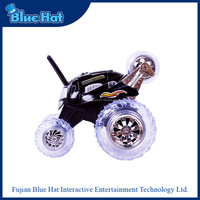 Wholesale stunt toy wireless radio control car with LED lights