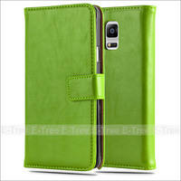 Factory price Pu Leather Stand Case For samsung galaxy note4,Accessary Phone Case for Samsung galaxy note4