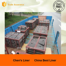 Copper Alloy Bar Cr-Mo Alloy Steel Composite Lifter Bars for Mine Mill
