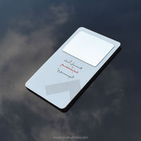 Full printed magnetic mini address phone book with mirror