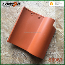Popular 310x310mm s shape Span ceramic roof tiles