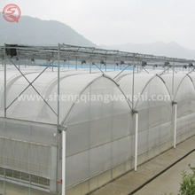 China supplier plastic frame greenhouse benches