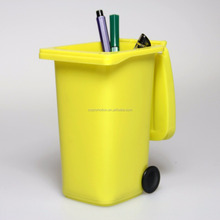 PP Material and Stocked,Eco-Friendly Feature plastic mini dustbin on desk