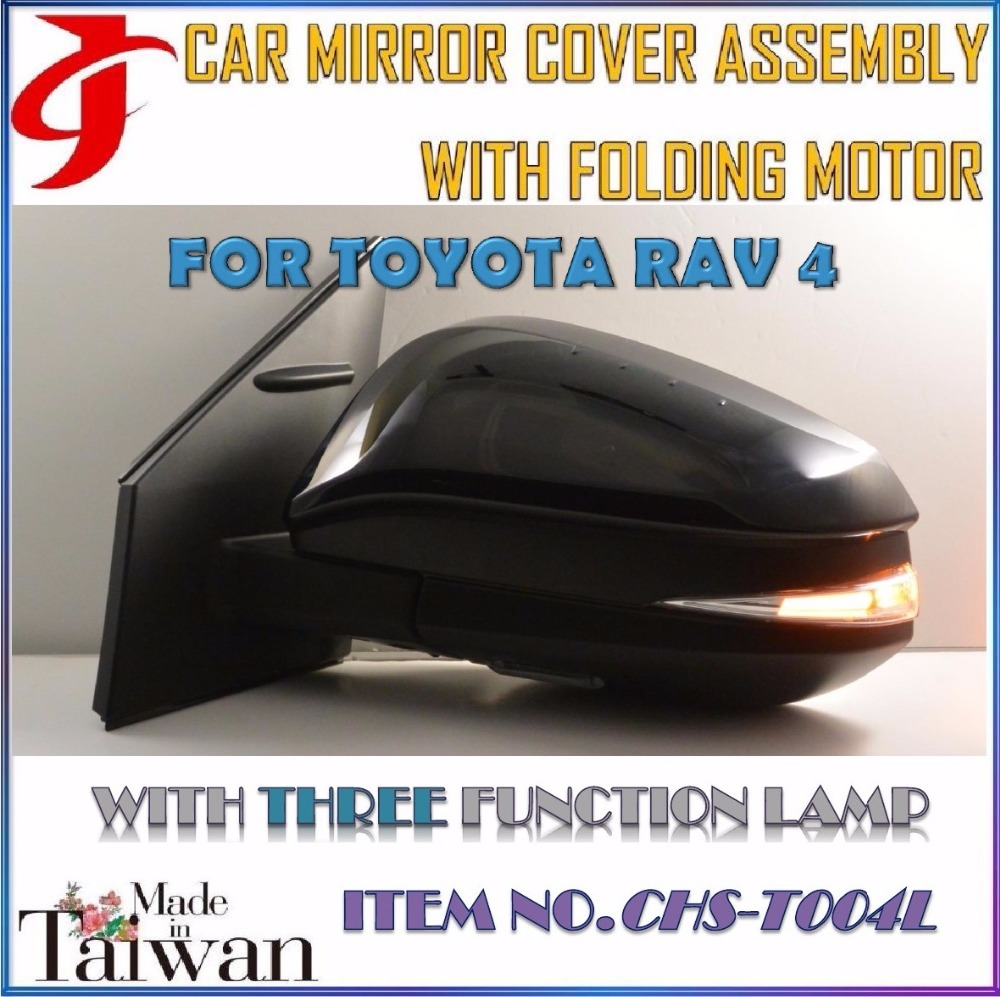 Body Kit FOR TOYOTA RAV4 CAR MIRROR COVER ASSEMBLY FOLDING MOTOR