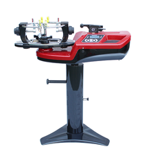 Computer tennis stringing machine with tools for free