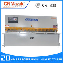 cnc machinery manufacture 3 meter 1/4 plate guillotine cutting metal sheet