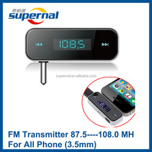 T01 Factory Price 3.5mm Jack Bluetooth Receiver FM Transmitter with LCD Display